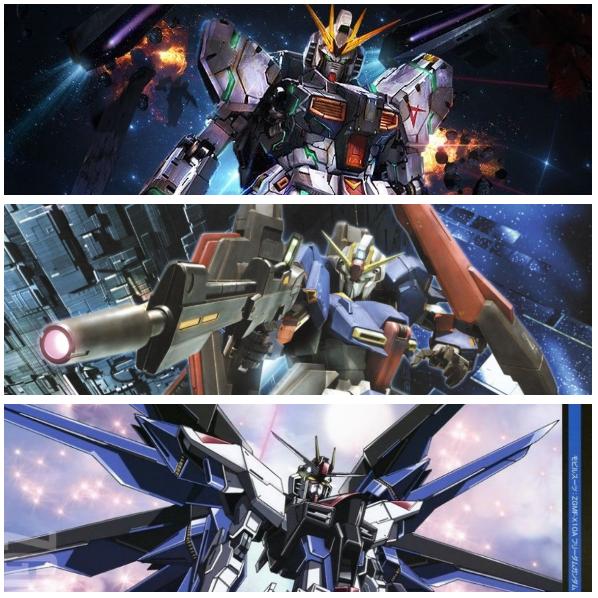 Top 3 Gundam