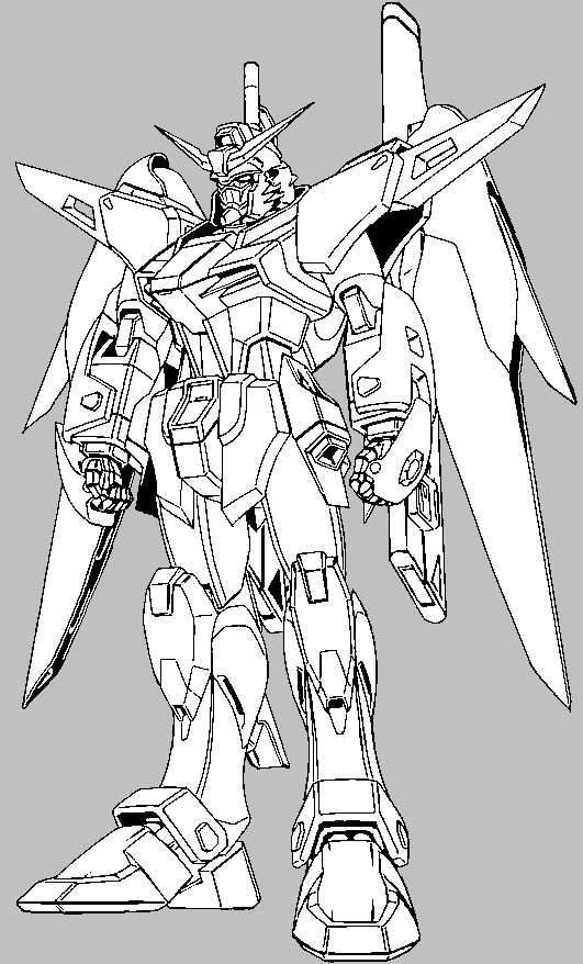 g gundam coloring pages - photo #49