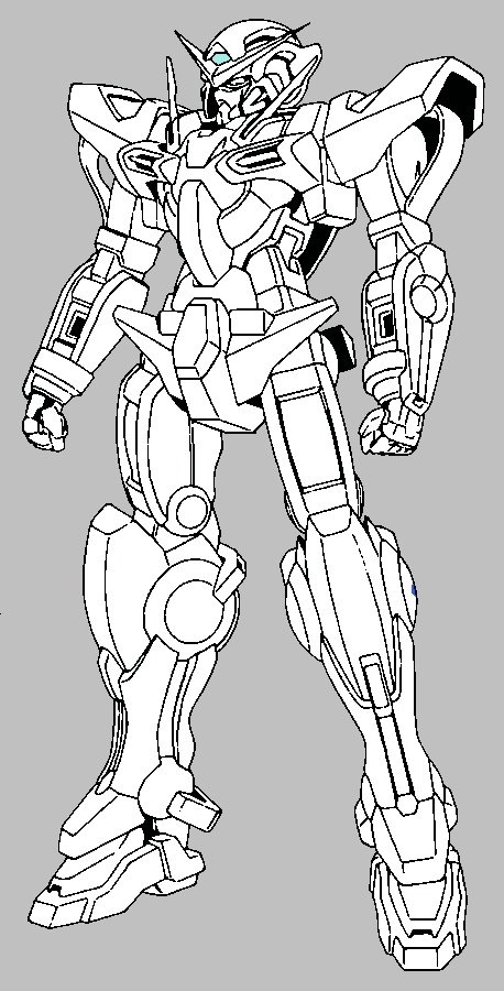 g gundam coloring pages - photo#11