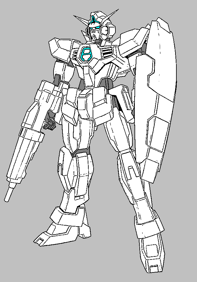 Layman's Gunpla Guide - Gundam Line Art Collection | Otaku ...