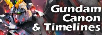 Falldog's Guide to Gundam Canon and Timelines
